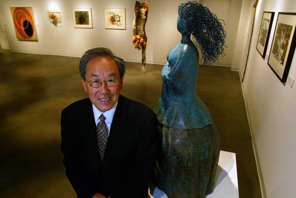 Ki Suh Park at L.A.'s Korean American Museum, where he served as a director and board member. Park, who loved the vibrancy and diversity of Los Angeles, died Jan. 16 at 80.