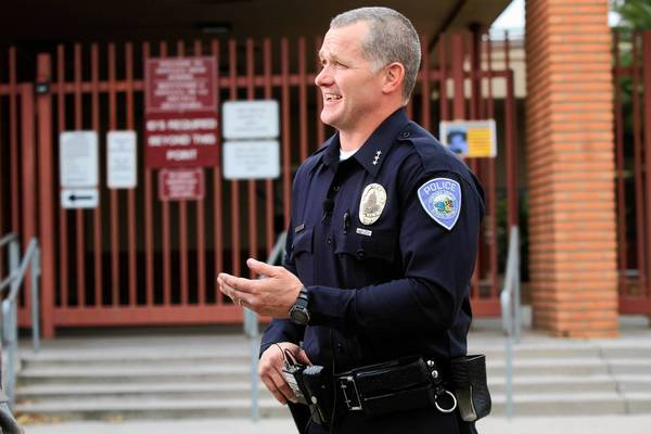 Fontana schools police Chief Billy Green said the semiautomatic rifles are designed to increase shooting accuracy and provide the 14 officers with more effective power against assailants wearing body armor.