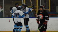 The Petoskey Northmen hockey team clinched the Northern Michigan Hockey League title in just their first year in the conference, and did so in convincing fashion Wednesday at Griffin Arena.