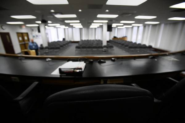 Elgin's City Council chambers will be remodeled to accommodate two additional council members and to increase security for all council members.