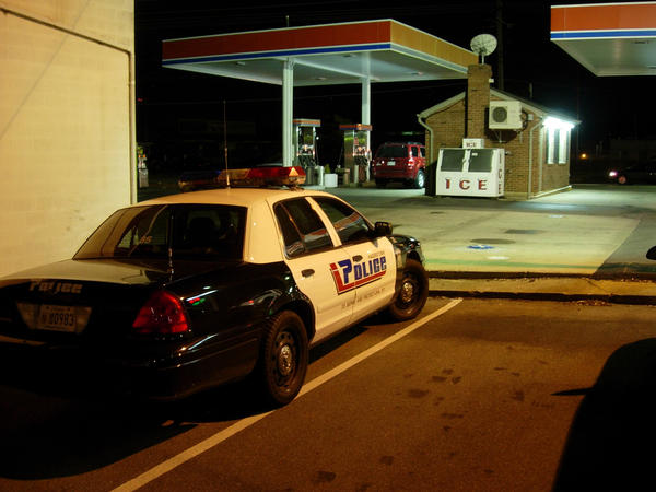 The AC&T gas station at 724 Frederick St., was robbed again Wednesday night, the third at the business in the last two weeks.