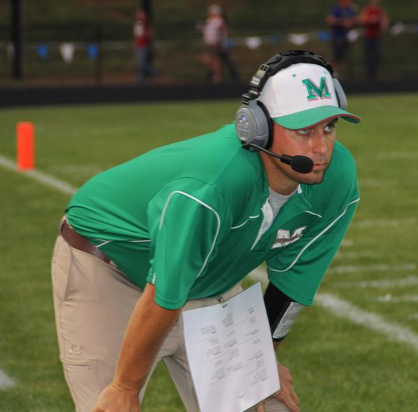 Brian Thomas served as an assistant football coach under Denny Price for six years at Musselman High School. This week, he was named to succeed Price as the Applemen's head coach.
