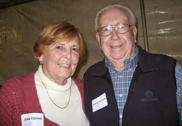 ARCHIVES: Joan and Vince Feehan at a Tournament of Roses party.