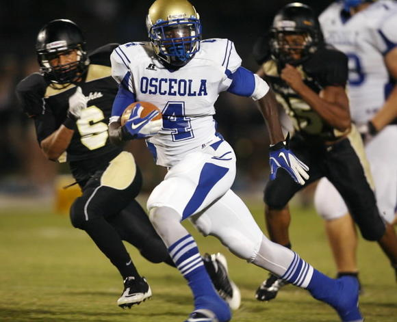 Osceola RB Stafon McCray, photo
