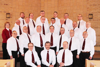 The Eureka Hymns will perform in concert at 3:30 p.m. Sunday at Eureka Reformed Church.