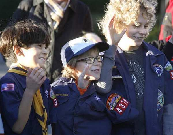 Cub Scouts meeting