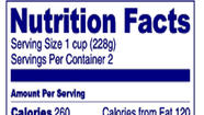 Clearer food labels might help with healthy food choice: study