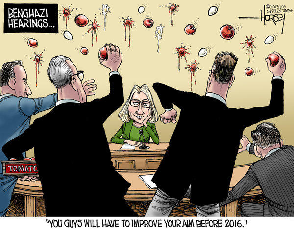 Hillary Clinton leaves Benghazi hearings unscathed