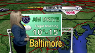 VIDEO Thursday's commuter weather forecast