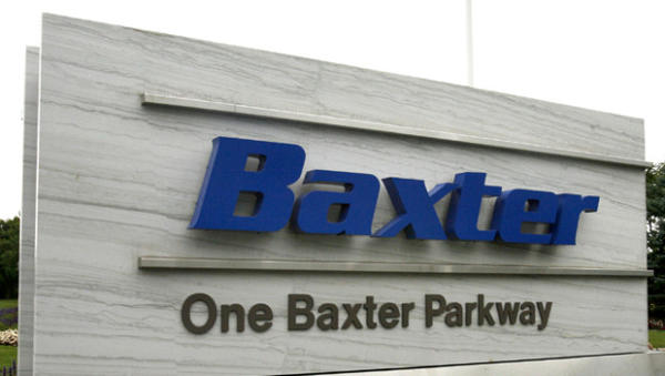 Baxter International headquarters in Deerfield.
