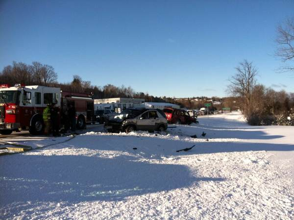 Emergency crews respond to a two-car accident at U.S. 31 in Petoskey, near Cormack's Deli. The accident happened at approximately 9:30 a.m. today, Thursday. There's no word right now on how many cars were involved, or if there were any injuries, but jaws of life were being used.  Southbound traffic is being rerouted as of 10 a.m., while northbound traffic is backed up.
