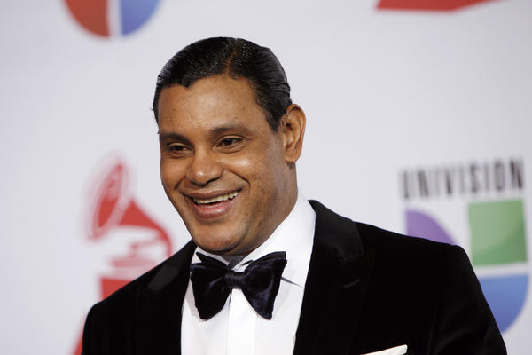 Sammy Sosa arrives for the 12th annual Latin Grammy Awards in Las Vegas on Nov. 10, 2011.