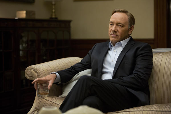 "Netflix stock surged on strong fourth-quarter earnings. Analysts expect modest subscriber gains in the first quarter, thanks to new original content, including the forthcoming series, ""House of Cards,"" starring Kevin Spacey, in an adaptation of a British classic."