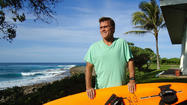 "On Jan. 28 1998, when mammoth swells closed Oahu's North Shore beaches, Ken Bradshaw defiantly took his WaveRunner a few miles offshore to a reef where the biggest waves were breaking. IMAX was filming ""Extreme"" via helicopter, and he wanted to be in it."
