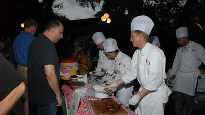 9th annual culinary school barbecue battle Sunday