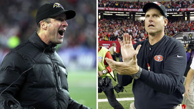 Harbaugh family not taking sides in Super Bowl matchup between brothers