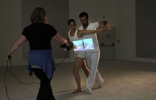 Benjamin Millepied, with members of L.A. Dance Project, performing at the Museum of Contemporary Art in downtown last year. Millepied has been named director of the Paris Opera Ballet.