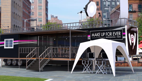 Make Up For Ever will launch a touring mobile makeup school Feb. 1.