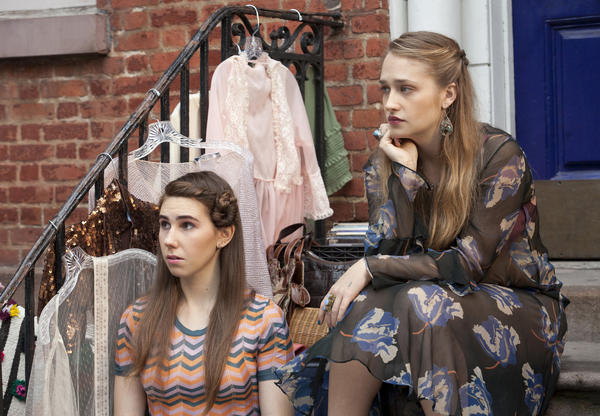 "Zosia Mamet and Jemima Kirke star in ""Girls."""