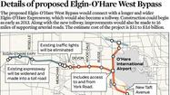The federal government has signed off on an agreement allowing the existing Elgin-O'Hare Expressway to be converted into a tollway, officials said today.