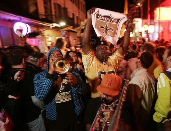 The crowds on Bourbon Street, for Super Bowl and Mardi Gras, will be visible on webcam.