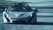 New video shows McLaren's P1 supercar tearing up the track