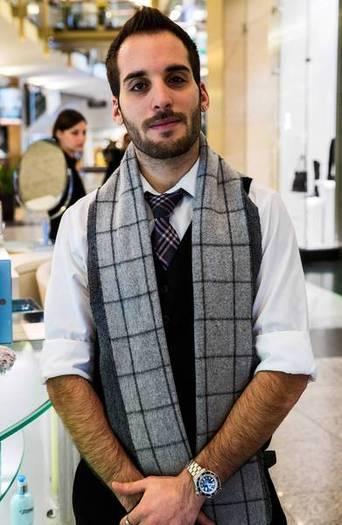 Ben Cohen, 27, aesthetician