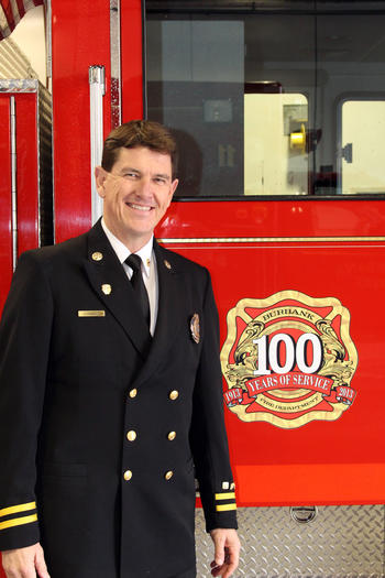 Burbank on Thursday announced that Tom Lenahan, a 25-year department veteran, will be the new fire chief.