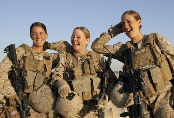 New policy on female U.S. troops
