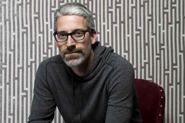 Screenwriter Mark Monroe.