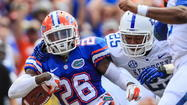 De'Ante Pop Saunder, DB, Florida Gators, Tennessee State, photo