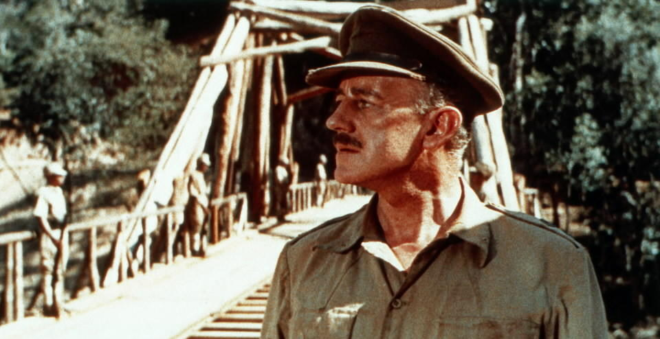 "Alec Guinness won an Oscar for 1957's ""The Bridge on the River Kwai."""