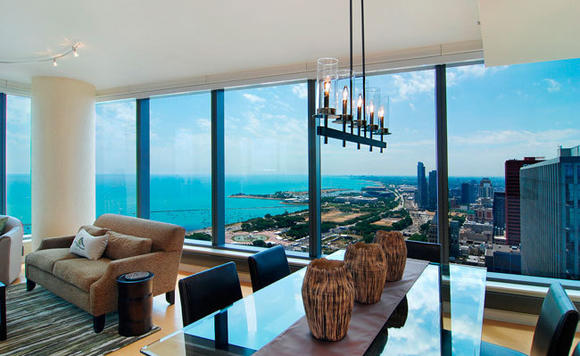 The Legacy offers new construction options as well as striking views of Chicago.