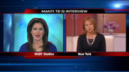 WSBT's Jennifer Copeland one-on-one with Katie Couric on Manti Te'o