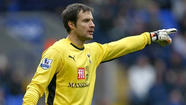 The Galaxy's new goalkeeper, Carlo Cudicini, said Thursday he's ready to help the team win its third consecutive Major League Soccer title.