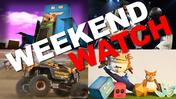Weekend Watch: Cardboard art, monster trucks, Othello