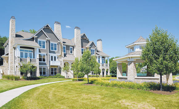 The Hamptons of Hinsdale matches the town's charm and amenities with high quality new construction.