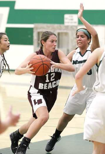 Jackie Cenan scored a game-high 24 points for Laguna Beach against Costa Mesa.