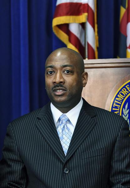Baltimore Police Homicide Detective Daniel T. Nicholson