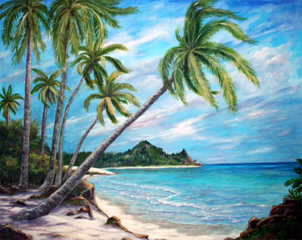 Paradise Island by Marlene Bell
