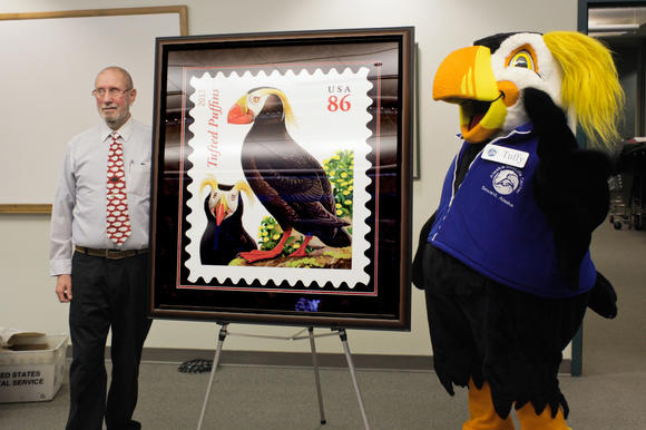 Puffin Stamp Unveiling