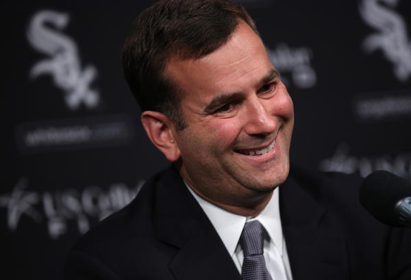 Rick Hahn goes into his first SoxFest as the team's general manager.
