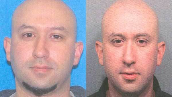 Two photos of Joseph L. Lopez Jr., named in an arrest warrant.