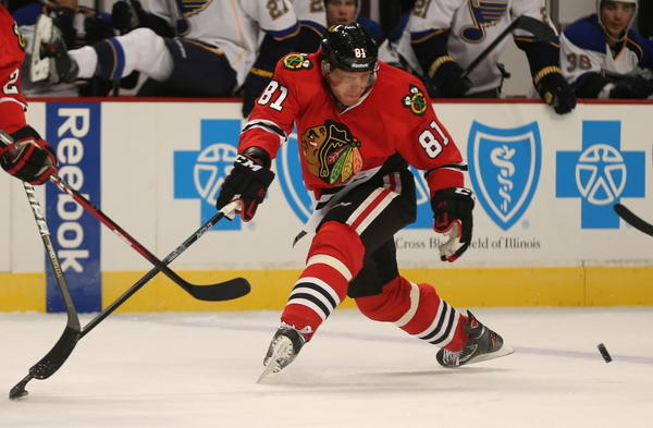 Marian Hossa and the Blackhawks are off to a hot start in 2013.