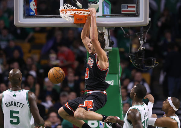 Bulls center Joakim Noah is headed for his first All-Star Game.