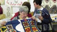 Last year, back surgery sidelined Evelyn Hunt from attending the Cumberland Valley Relief Center Quilt Show, but not this year.
