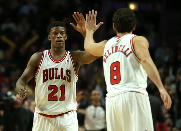 Bulls backup Jimmy Butler (21) has maintained a team-first attitude.