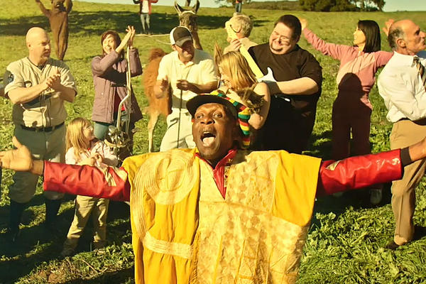 Rock and Roll Hall of Fame musician Jimmy Cliff is seen in a teaser video that Volkswagen released ahead of its Super Bowl commercial.