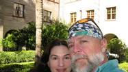 Karen Brooks with her boyfriend Gary Rager