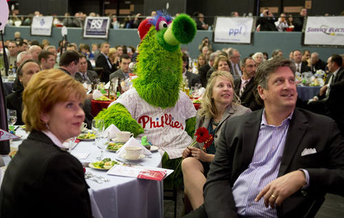 Phillies annual Winter Banquet held at the Sands Event Center in Bethlehem on Thursday.